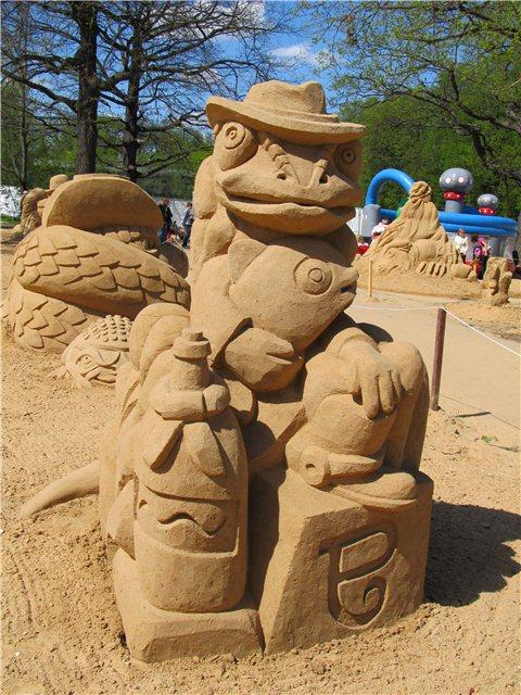 """Международный фестиваль песчаной скульптуры «Знаменитые фонтаны мира"""" Ae2363f6c1e6"""