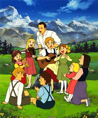 Семья певцов фон Трапп / Trapp Family Story / Trapp Ikka Monogatari /  トラップ一家物語 (1991 г. 40 серий) 318d60139a8c