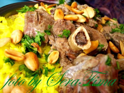Мансеф - традиционный иорданский рис с бараниной и кефирной шорбой. Араб.кухня 7fb9e3e103e5