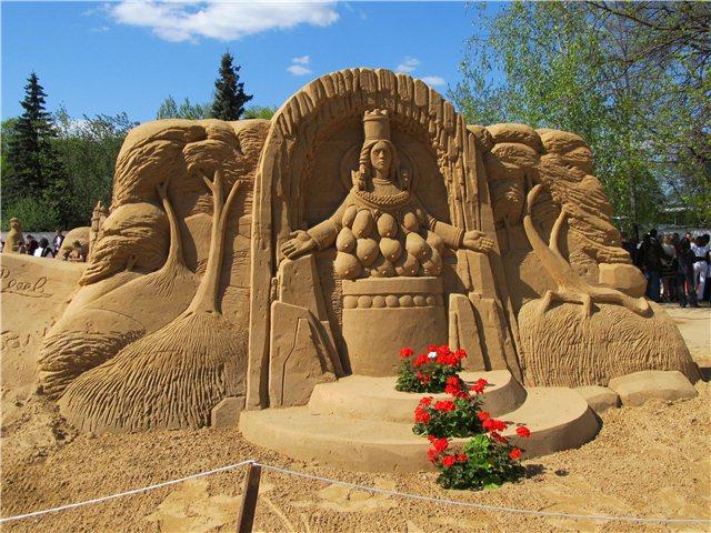 """Международный фестиваль песчаной скульптуры «Знаменитые фонтаны мира"""" 3330f2b05bd3"""