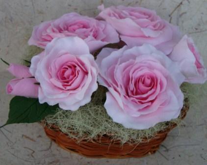 Цветы ручной работы из полимерной глины 32e3c83126c9