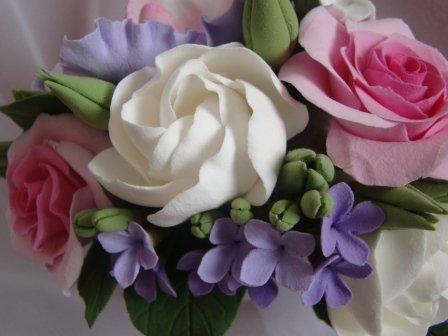 Цветы ручной работы из полимерной глины Db6399264401