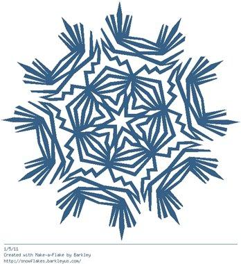 Зимнее рукоделие - вырезаем снежинки! - Страница 3 2342c8ed3580