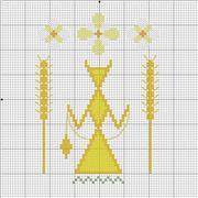 Славянская обережная вышивка Fe20cab177f5t