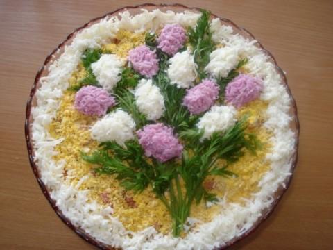 Идеи украшения салатов F6f6cb67006f