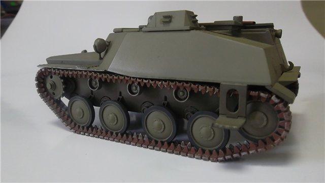 Катюша БМ-8-24 на Т-40, 1/35, (Старт) E89f20e8acd6