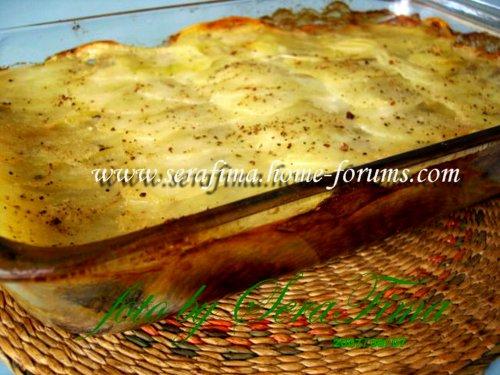 Картофельная запеканка с грибами и сливками Fe19ae1d05ad