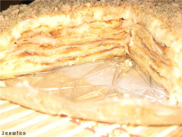 Торт Наполеон с нежным заварным кремом 3361ea7c613e