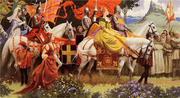 Легенды о Короле Артуре - рыцарские романы... Faff1703a513