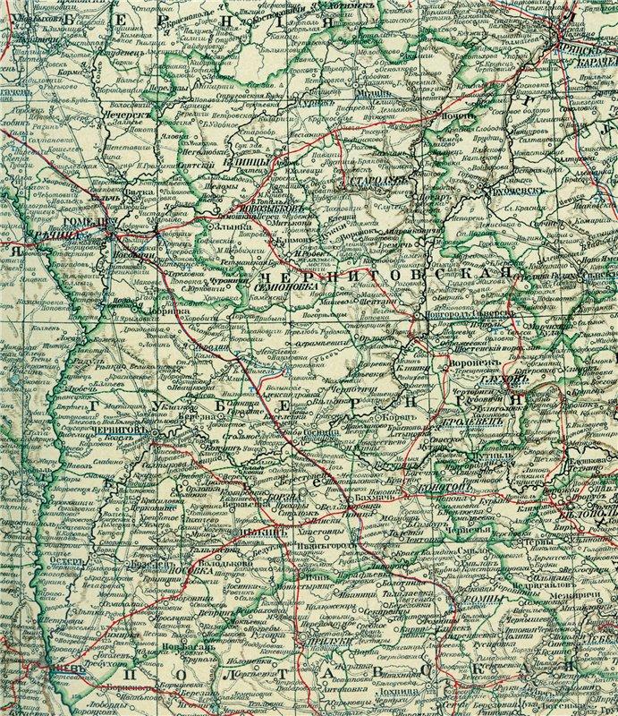 Карты Черниговской губернии Deada83a9ca4