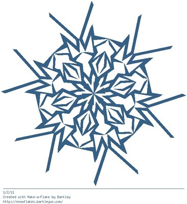 Зимнее рукоделие - вырезаем снежинки! - Страница 3 2218dd93a802