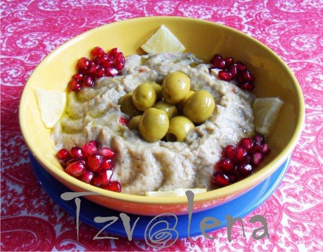 Мтаббаль. Дип из печеного баклажана. Арабская кухня - Страница 2 Eb3b84e82d3a
