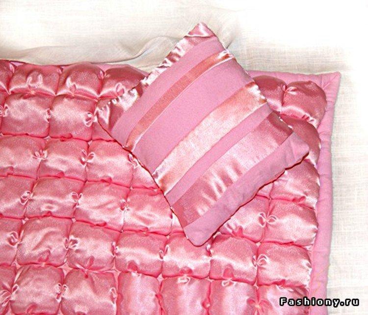 Шьем декоративное одеяло и подушку. Мастер-класс A1c67d5a39a4