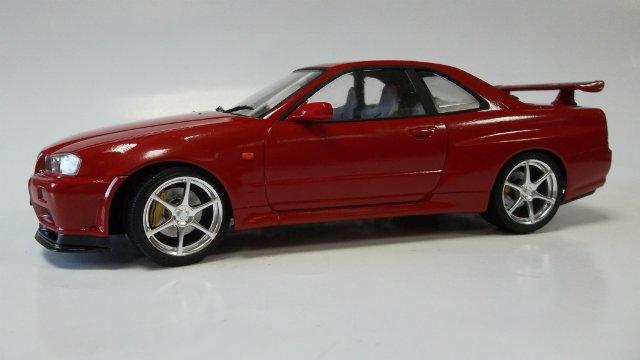 Nissan Skyline GT-R, 1/24, (Tamiya 24210) A62b83285256