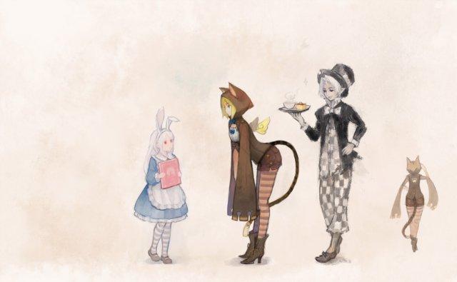 Арты на тему: 'Alice in Wonderland' Ce237a46fe48