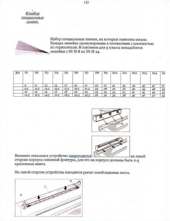 Начальный курс по обучению вязания на вязальной машине SILVER REED   - Страница 6 0a36907da036