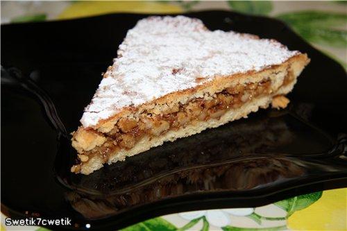 Энгадинский ореховый торт B6e53097fce7