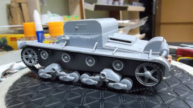 Т-26Т артиллерийский тягач, 1/35, (RPM 35072). 7f9dfda067d8