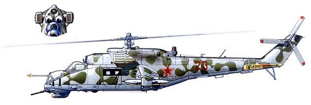 МИ-24В/ВП Звезда, сборка от БТТ шника Bc45a80848eb