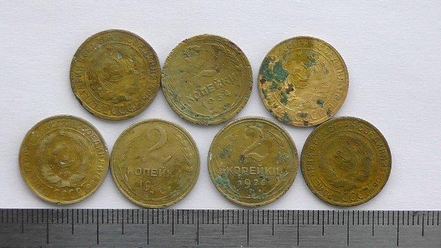 Экспонаты денежных единиц музея Большеорловской ООШ 35e3c7fc3b19