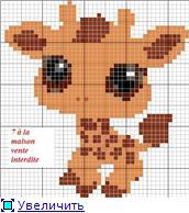 Жирафики - вышивка 9ca627cc3965t