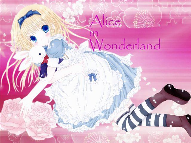 Арты на тему: 'Alice in Wonderland' D935ecb6045a
