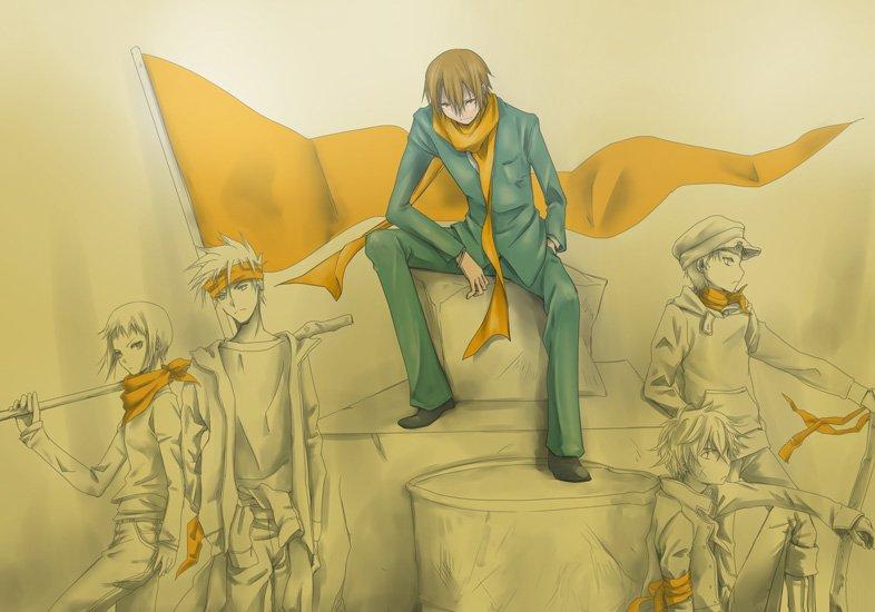 Арт по аниме «Дюрара!» (Durarara!!) 02a7abb43329