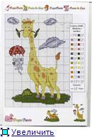 Жирафики - вышивка 80e4111c1eabt