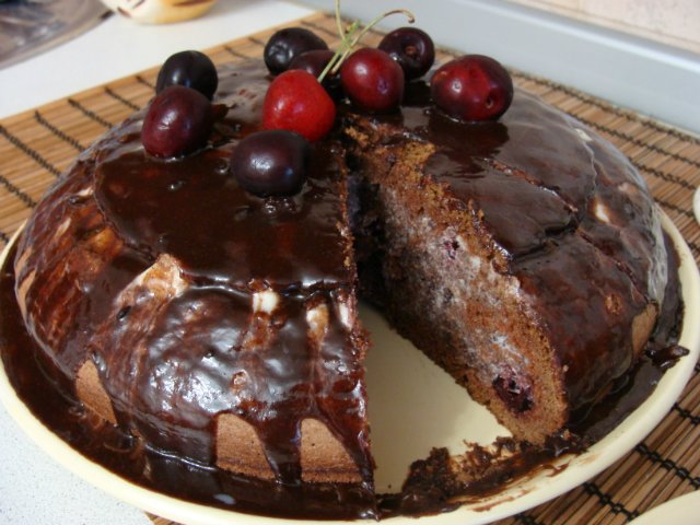 "Пирог - торт "" Пьяная вишня"" - Страница 10 364d83a37936"