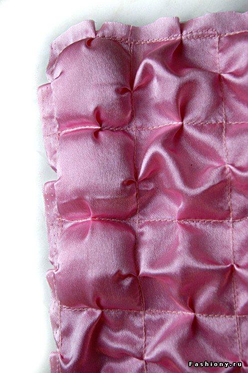 Шьем декоративное одеяло и подушку. Мастер-класс 93507425b2b6