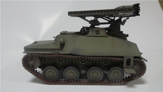 Катюша БМ-8-24 на Т-40, 1/35, (Старт) C1928b297171