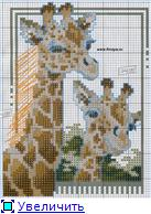 Жирафики - вышивка 17c313110a72t