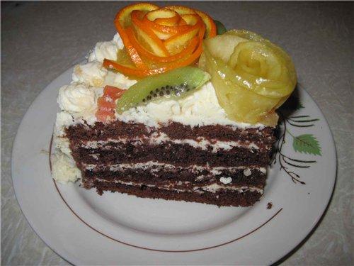 """Торт """"Шоколад на кипятке"""" Af811a4ed26f"""