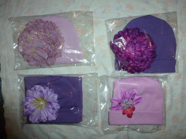 Хвастаемся Авторскими шапочками с красивущими цветочками! Aff36ecfc848