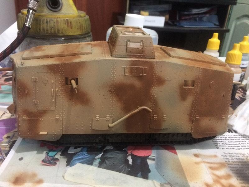 MENG A7V TANK (KRUPP) 1/35 - Страница 4 Bf5ca92b9f87
