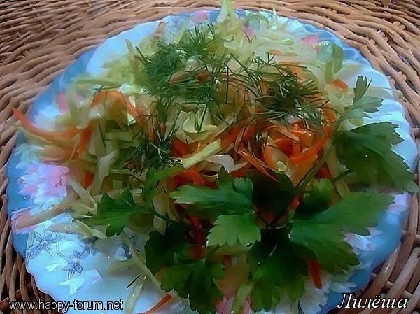 Овощной салат-ассорти с имбирной заправкой 664b8244b1da