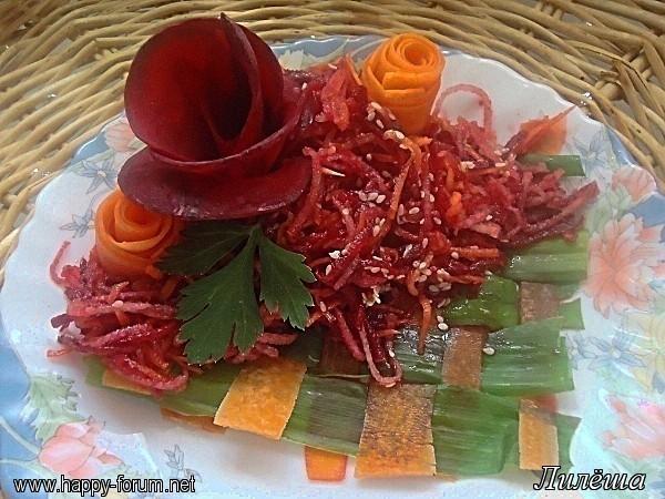 Свекольно-грушевый салат 7a845abea8c3