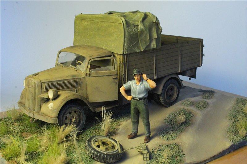 Italeri 216 Opel Blitz German truck 3 (t) Type S 1:35 D238ca12686c