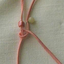 10 плетёных цепочек с бисером в технике макраме D3ca582846c0