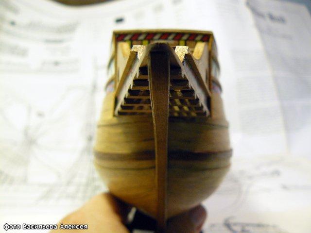 Галеон GOLDEN HIND (Золотая лань) ЖЕЛЕЗНОГО ПИРАТА масштаб 1:53 F8ee9d6a1758