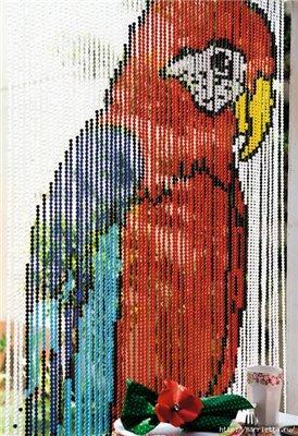 Креативная штора из бусин 35c11d2c1cd1t