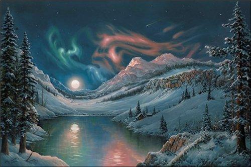 Магия ночи в живописи A5ece892e55e