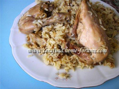 Маклюбе (маглюбе) по-иордански. Плов с овощами и курицей Dea39ad5adb2