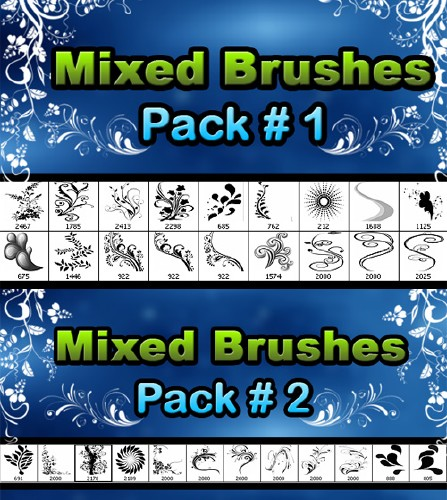 Floral brushes pack 3ee2710c8bc8