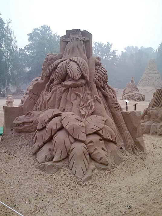 Международный фестиваль песчаной скульптуры на ВВЦ (ВДНХ) 2010 4c9e44e80bc6