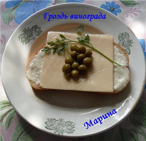 Праздничные бутерброды 199034a4250f