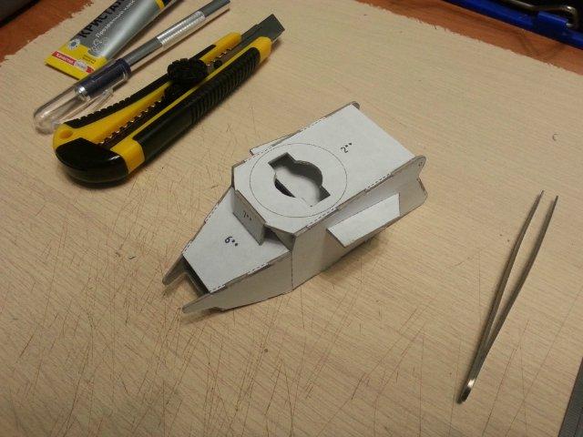 Т-18 (МС-1) Бумажное моделирование №45 4389c10270fc