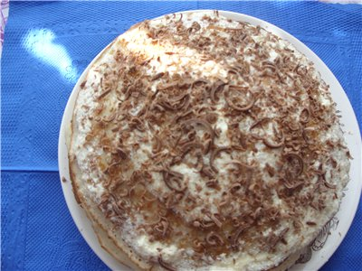 Быстрый торт на сковородке 29cf6ec0a16a