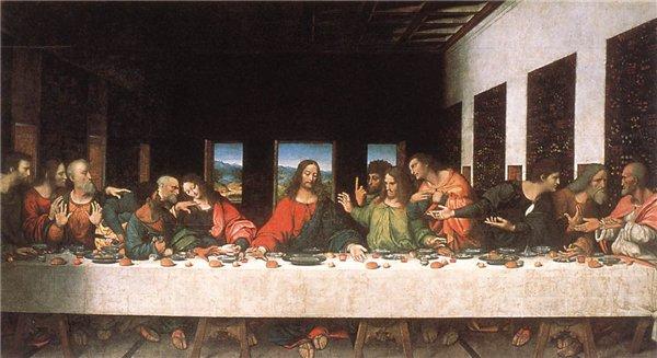 Леонардо да Винчи. Тайная вечеря. 1ec4752c80c4