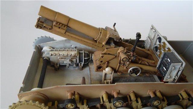 15 cm sIG auf Fahrgestell Pz II или Sturmpanzer II, 1/35, (ARK 35012) Bd961dba2b0a